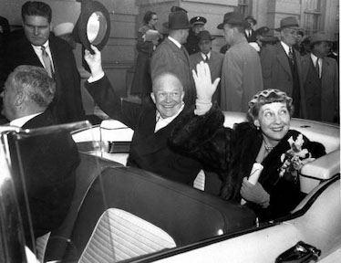 Ike and Mamie, Inauguration Day