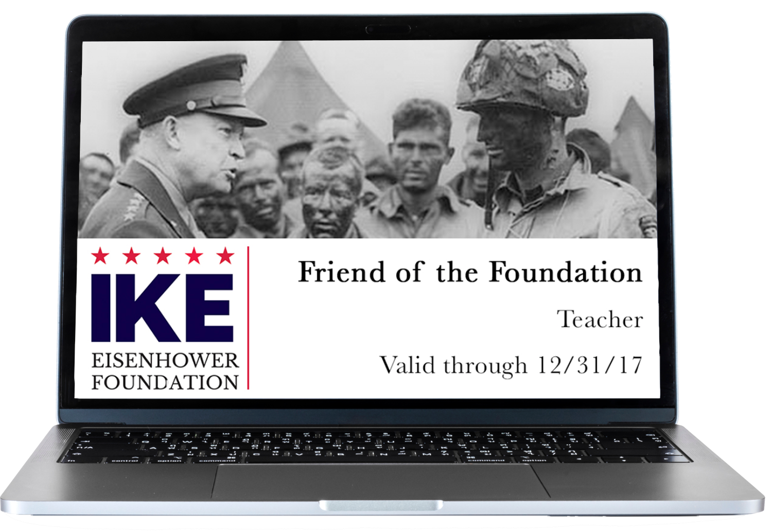 Friends of Foundation Laptop