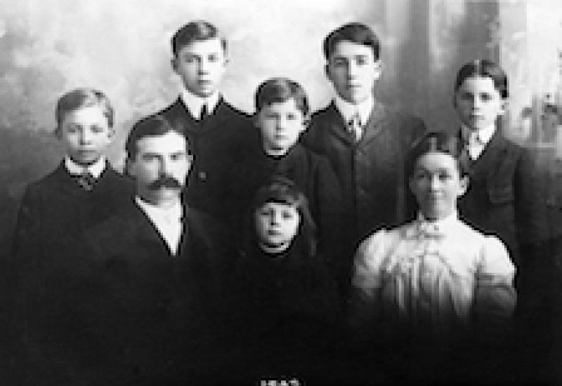 Eisenhower Family 1902