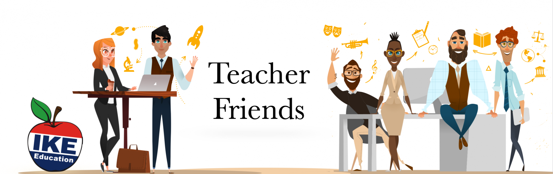 Teacher Friends banner