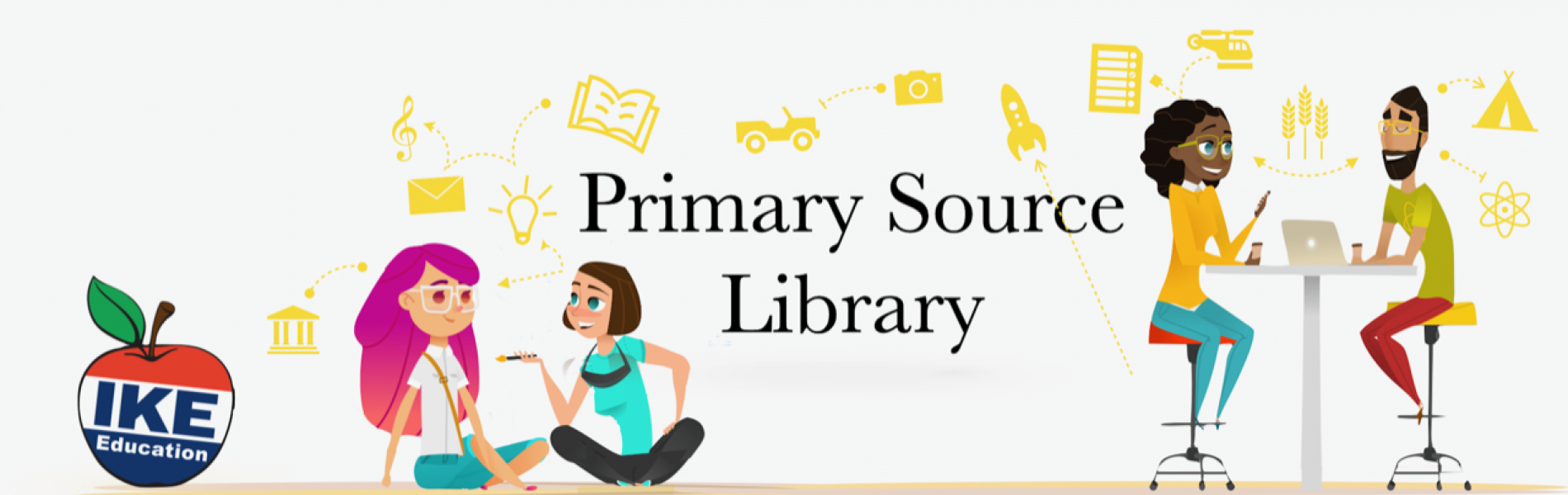 Primary Source Library illustration
